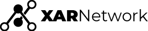 Xar Network official logo collapsed black
